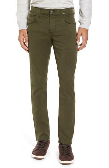 Hudson Jeans Blake Slim Fit Jeans, Green