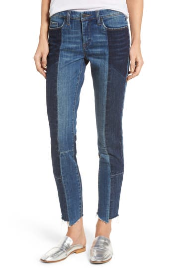 Blanknyc Mix-Up Skinny Jeans, Blue