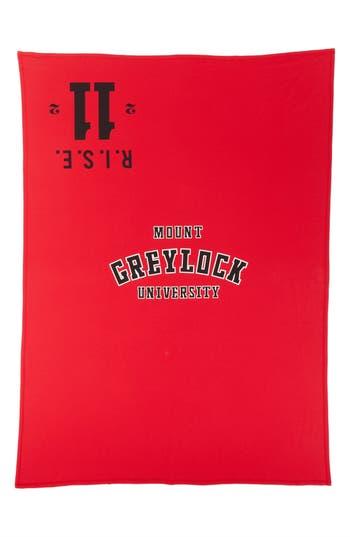 Calvin Klein Mount Greylock Throw, Size One Size - Red