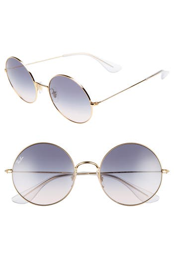 Ray-Ban The Ja-Jo 5m Round Sunglasses - Blue Gradient