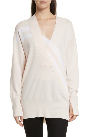 Rag & Bone Grace Merino Wool Sweater, Pink