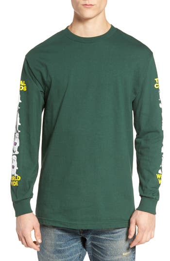 Obey Total Chaos T-Shirt, Green