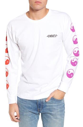 Obey Subversion Basic T-Shirt, White