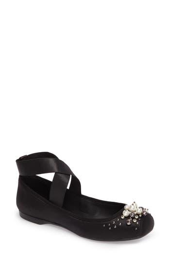 Jessica Simpson Mineah Ballet Flat, Black