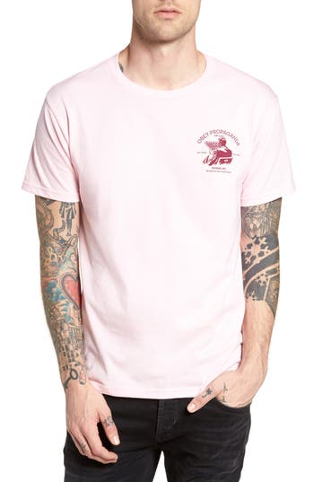 Obey Return Of The Dead Premium Graphic T-Shirt, Pink
