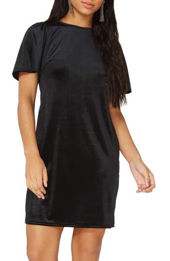 Dorothy Perkins Velvet Shift Dress, US / 8 UK - Black