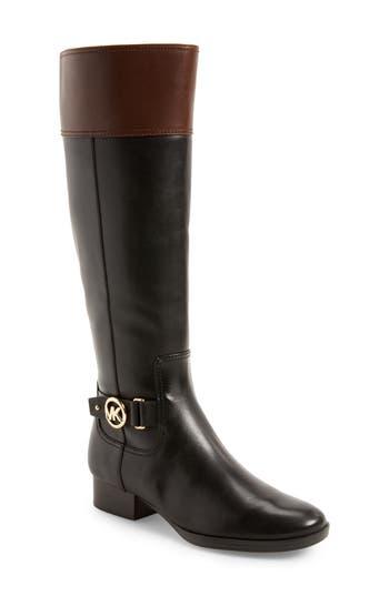 Michael Michael Kors Harland Boot Regular Calf- Black