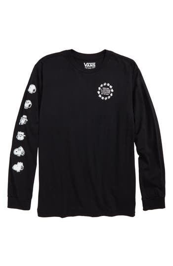 Boys Vans X Peanuts Snoopys Brothers Long Sleeve TShirt