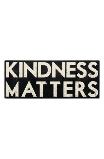 Primitives By Kathy Kindness Matters Box Sign