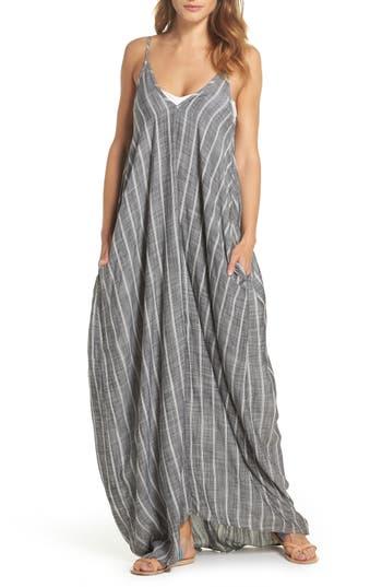 Elan Cover-Up Maxi Dress, Grey