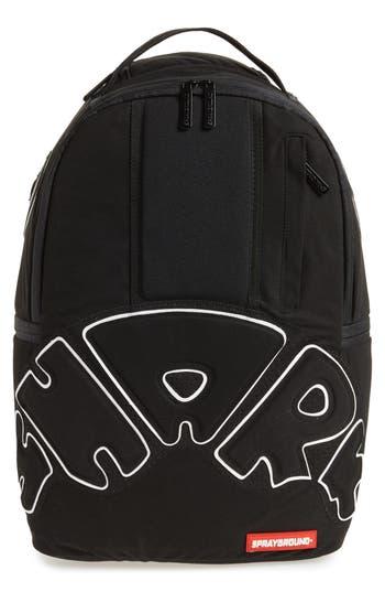 Sprayground Uptempo Shark Backpack - Black