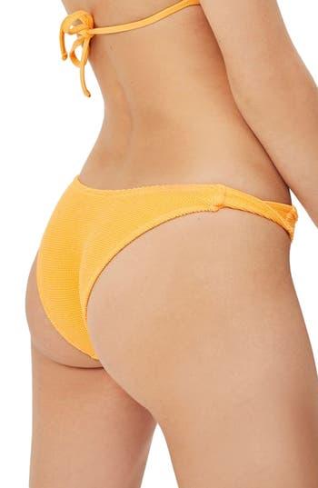 Topshop Twist Side Bikini Bottoms, US (fits like 6-8) - Orange