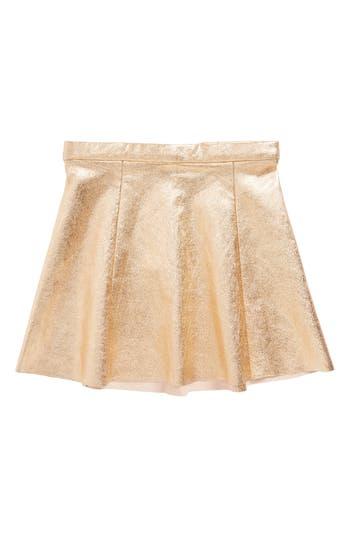 Girl's Kate Spade New York Metallic Skirt, Size 4 - Pink