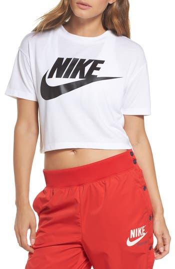Nike Sportswear Crop Top, White