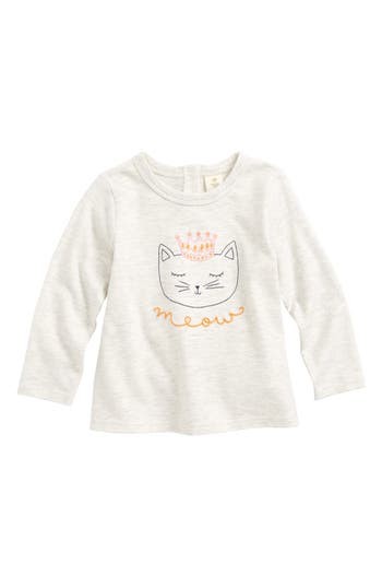 Infant Girls Tucker  Tate Embroidered Graphic Tee