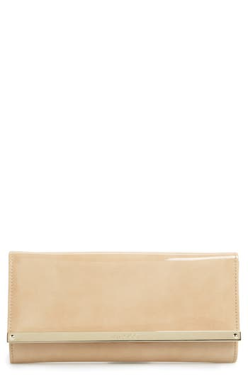 Jimmy Choo 'Milla' Patent Leather Wallet On A Chain - at NORDSTROM.com