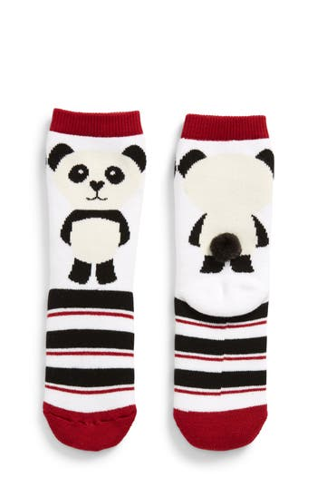 Girls Tucker  Tate Panda Crew Socks