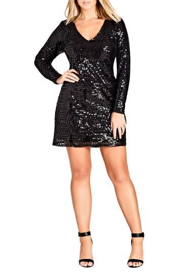 City Chic Bright Lights Dress