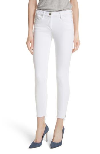 3x1 nyc female womens 3x1 nyc w2 crop skinny jeans size 25 white