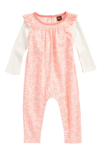 Infant Girls Tea Collection Daisy Field Romper
