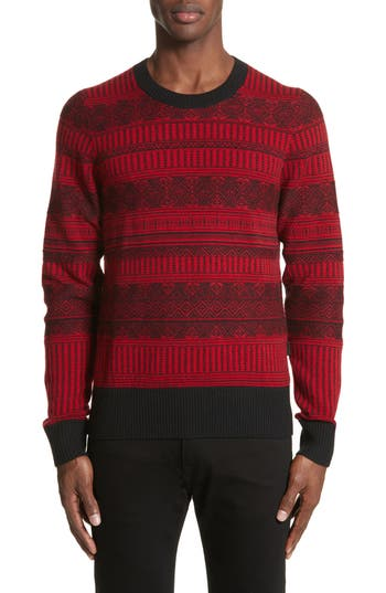 Burberry Tredway Wool & Cashmere Sweater, Red