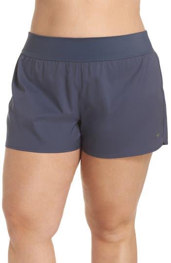 Plus Size Nike Swim Board Shorts, Blue