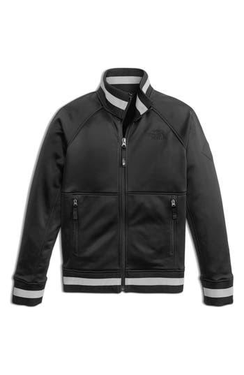 Boys The North Face Takeback Track Jacket Size L  1416  Black