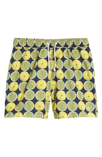 Original Penguin Reversible Volley Board Shorts, Blue