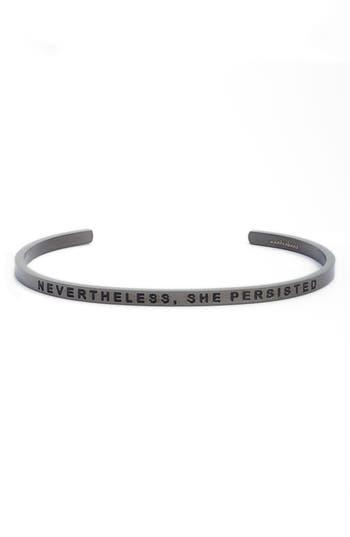 MantraBand® Nevertheless, She Persisted Cuff Bracelet