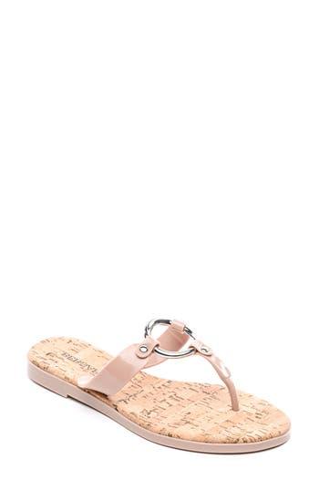 Bernardo Footwear Matrix Flip Flop, Pink