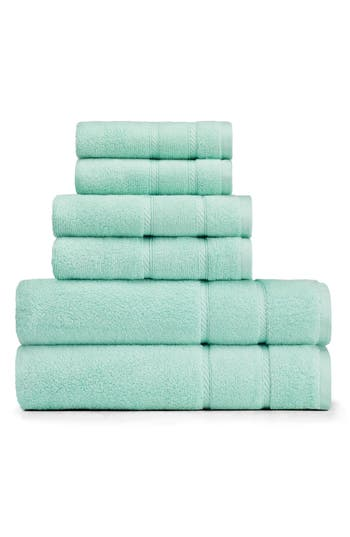 Nautica Belle Haven Bath Towel, Hand Towel & Washcloth Set, Size One Size - Green