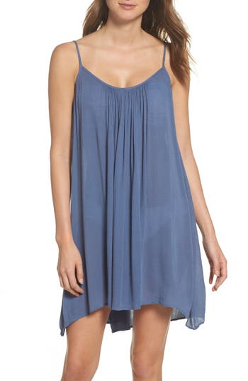 Elan Cover-Up Slipdress, Blue