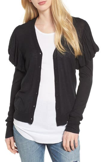 Women's Hinge Puff Sleeve Cardigan