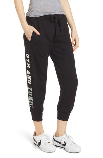 Gym & Tonic Crop Sweatpants