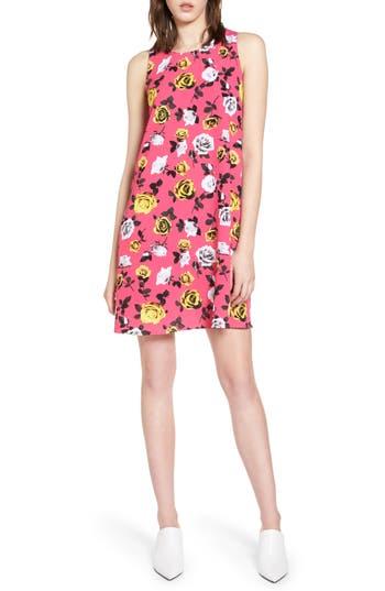 Women's Halogen A-Line Dress, Size Medium - Pink