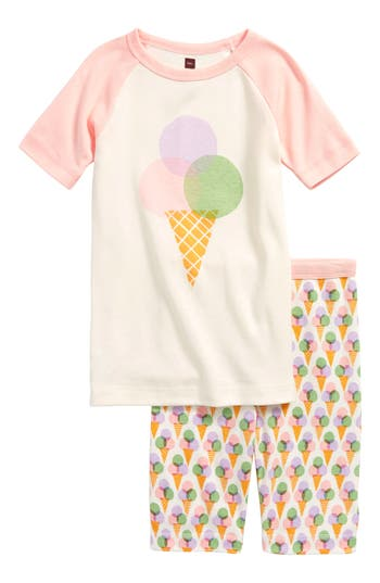 Toddler Girls Tea Collection Gelato Fitted TwoPiece Pajamas