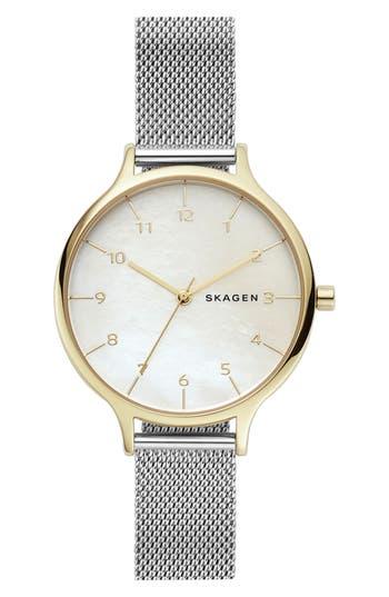 Skagen Anita Mesh Strap Watch, 36mm