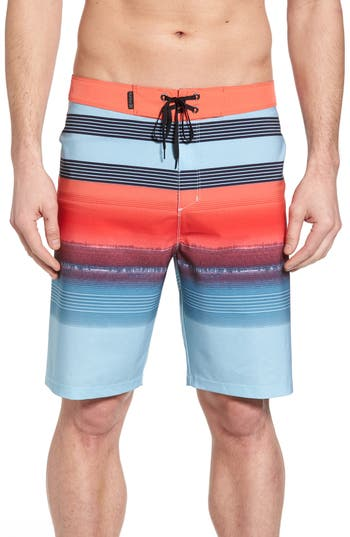 Hurley Phantom Gaviota Board Shorts, Blue