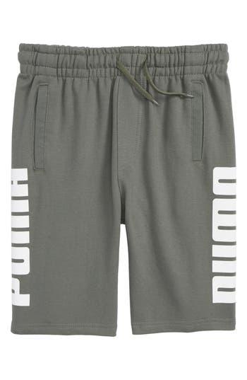Boys Puma Rebel Knit Shorts