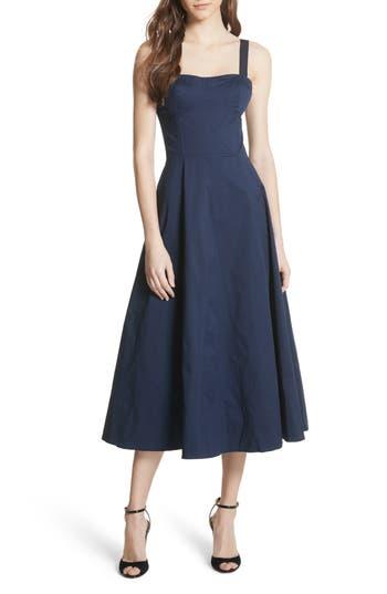 Joie Briel Midi Dress, Blue