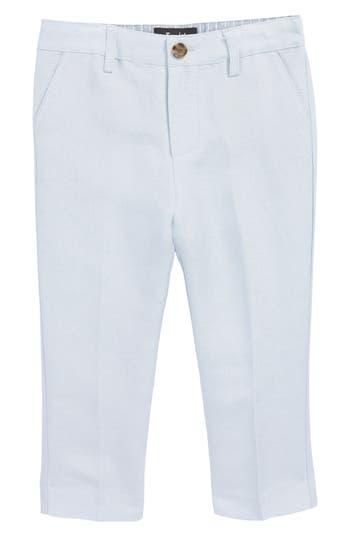 Infant Boys Bardot Junior Miles Linen Blend Dress Pants