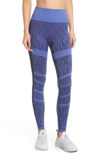 Climawear Adventure Awaits High Waist Leggings, Blue