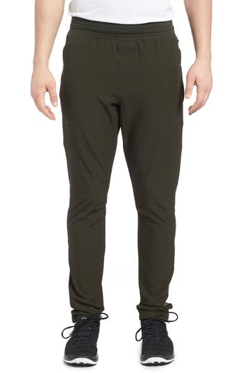 Under Armour Fitted Woven Training Pants, Green
