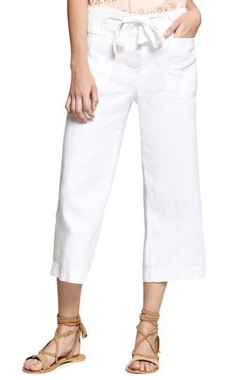 Sanctuary Sasha Crop Cargo Pants, White