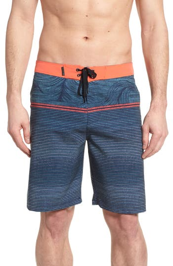 Hurley Phantom Sunset Board Shorts, Blue