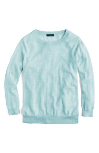 J.crew Tippi Merino Wool Sweater, Blue/green