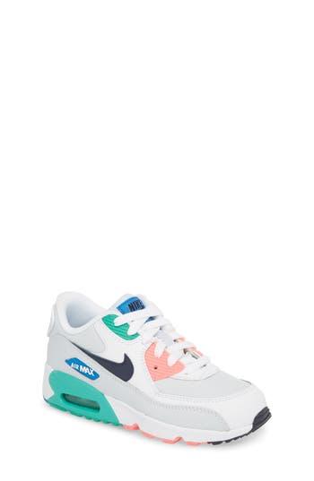 Boys Nike Air Max 90 Sneaker Size 11.5 M  White