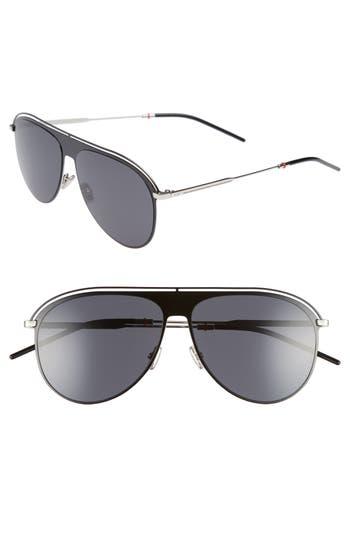 Dior 59mm Polarized Aviator Sunglasses