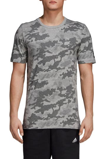 Adidas Regular Fit Id T-Shirt, Grey