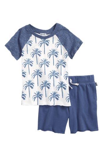 Boys Splendid Palm Tree TShirt  Shorts Set